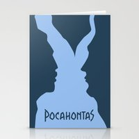 pocahontas Stationery Cards featuring Pocahontas by Citron Vert