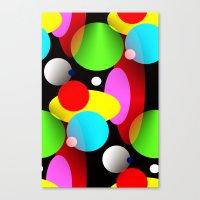 balloons Canvas Prints featuring Balloons by Artisimo (Keith Bond)