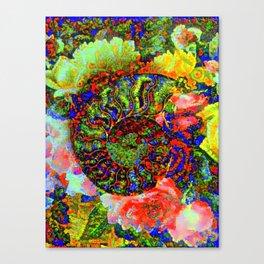 Ammonite Floriade Canvas Print