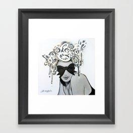 Ribbons & Bows Framed Art Print