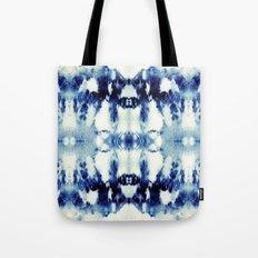 Tie Dye Blues Tote Bag