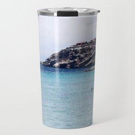 the blue bay Travel Mug