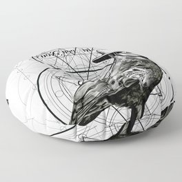 The Raven Floor Pillow