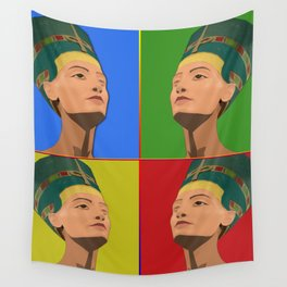 Ancient Relics: Nefertiti Wall Tapestry