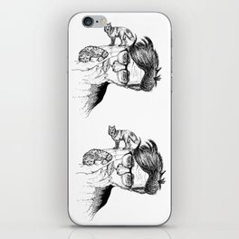 fox planet iPhone Skin