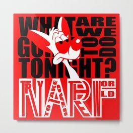 NARF Metal Print