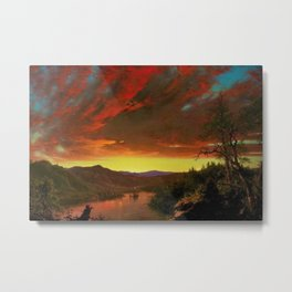Twilight in the Wilderness by Frederic Edwin Church Metal Print