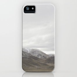 Lindis Pass - New Zealand iPhone Case