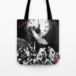 Two Minutes To Midnight Tote Bag
