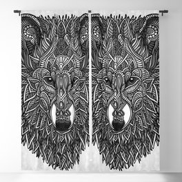 Gray Wolf Blackout Curtain