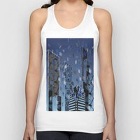 divergent Tank Tops featuring Divergent by Melissa Woodall