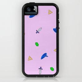 Legend of Zelda Pastel Print iPhone Case