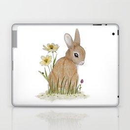 Rabbit Among the Flowers Laptop & iPad Skin