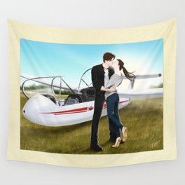 happy landing Wall Tapestry