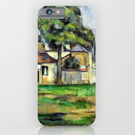 Paul Cézanne Banks of the Marne iPhone Case