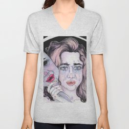 The Two Faces Unisex V-Neck