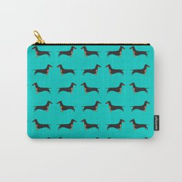 Black and Tan Dachshund Carry-All Pouch