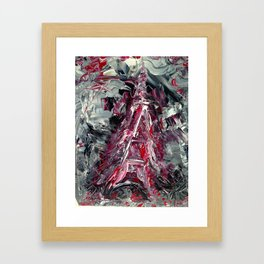 2015 Paris attacks Framed Art Print