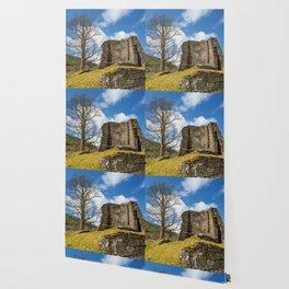 Scottish Broch. Wallpaper
