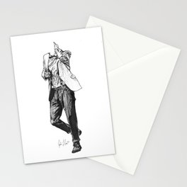 Madman with a Box: 11 Stationery Cards