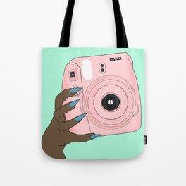 pink instax Tote Bag