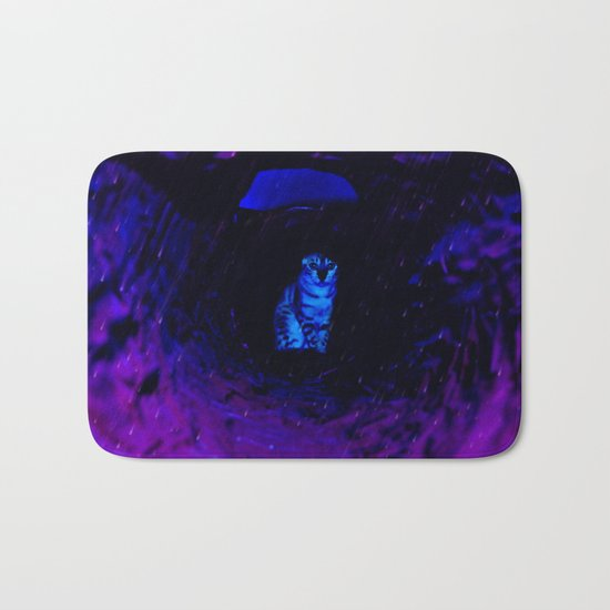 Century Of The Cat Tunnel Voyage Flare Bath Mat