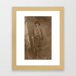 Billy The Kid Framed Art Print