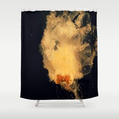 Jelly friends Shower Curtain