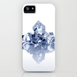 Small heap of crushed ice pieces iPhone Case