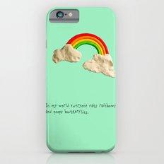 rainbows & poops iPhone 6s Slim Case