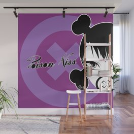 POISON KISS PURPLE Wall Mural