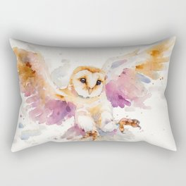 Twilight Owl Rectangular Pillow