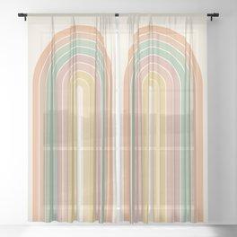 Gradient Arch XVIII Sheer Curtain