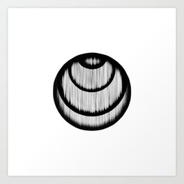 Centered #02 Art Print