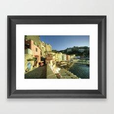 Sorrento Warmth Framed Art Print