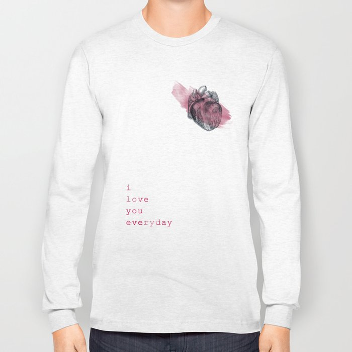 i_love_you_everyday Long Sleeve T-shirt