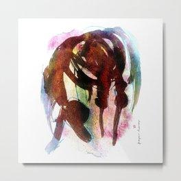 Horse (Deep bow) Metal Print