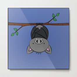 Little Bat Metal Print