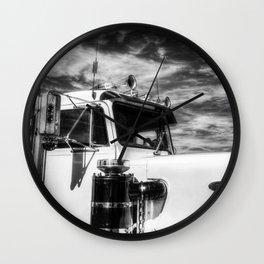 Peterbilt American Truck Wall Clock