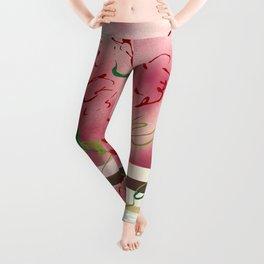 Modern Botanical Leggings
