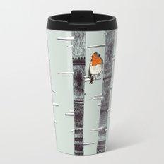Robin Trees Travel Mug