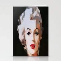 monroe Stationery Cards featuring Monroe by The Art Of Gem Starr