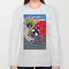 Ladybug&flower Long Sleeve T-shirt