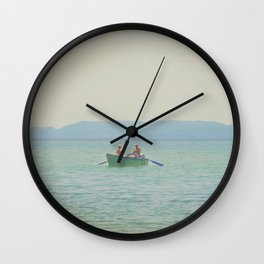 Croatian Summer Wall Clock