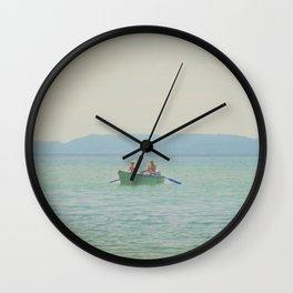 Croatian Summer Wall Clock