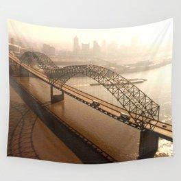 Hernando de Soto Bridge in Memphis Wall Tapestry