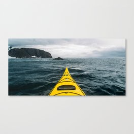 Stormy Antarctic Waters Canvas Print