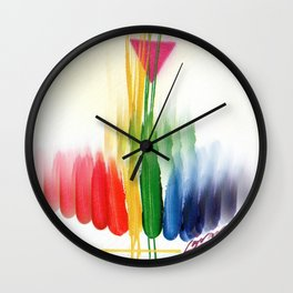 Life is a Mriacle Wall Clock