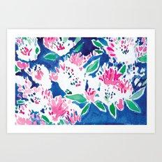 Ghost Flower Art Print