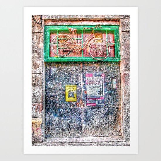 4F | LA CARAVANA EUROPEA Art Print